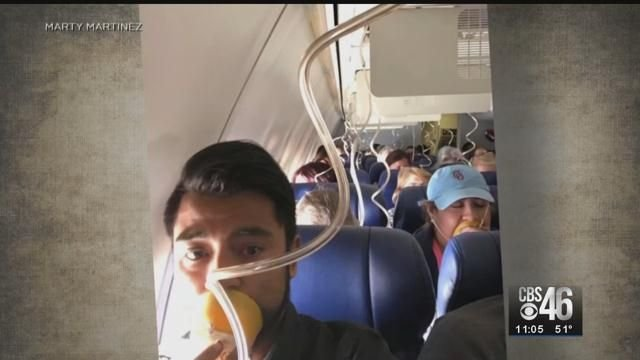 Viral photo shows passengers incorrectly wearing oxygen masks