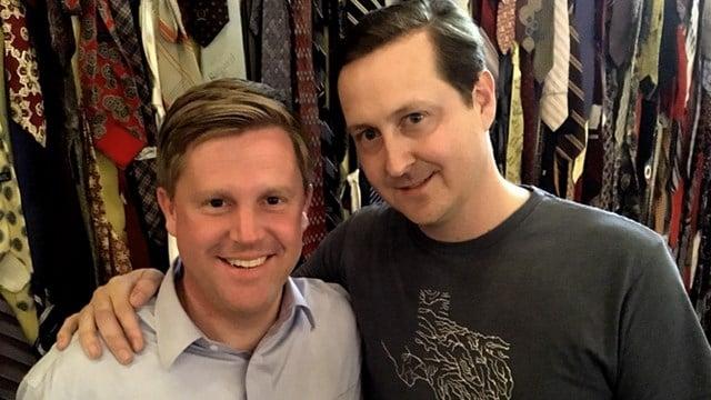Adam Murphy (left) and Jon Goss (Source: WGCL)