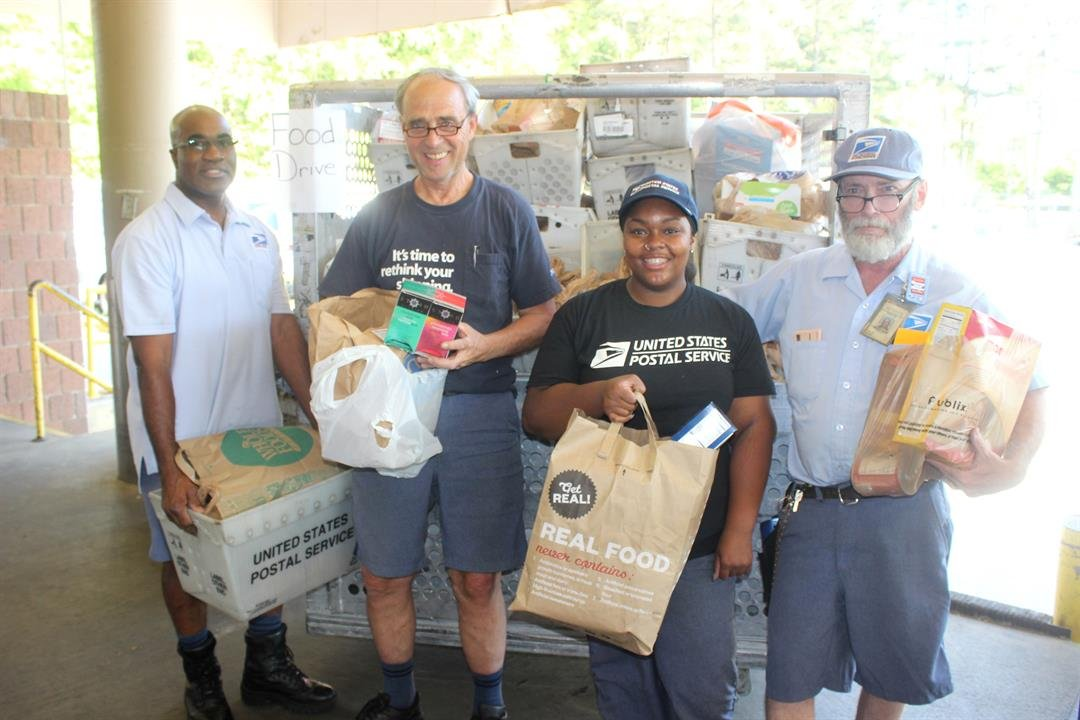 Post office, United Way team up for Stamp Out Hunger food drive