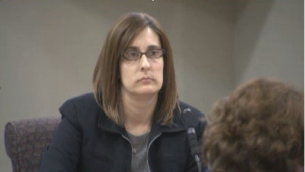 Rusty Sneiderman's wife, Andrea, testifies