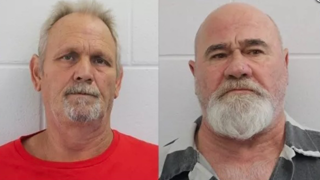 Frankie Gebhardt and Bill Moore (Spalding County Sheriff's Office)