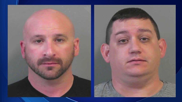 Brandon England and Shawn Norris (Source: Catoosa County Jail)