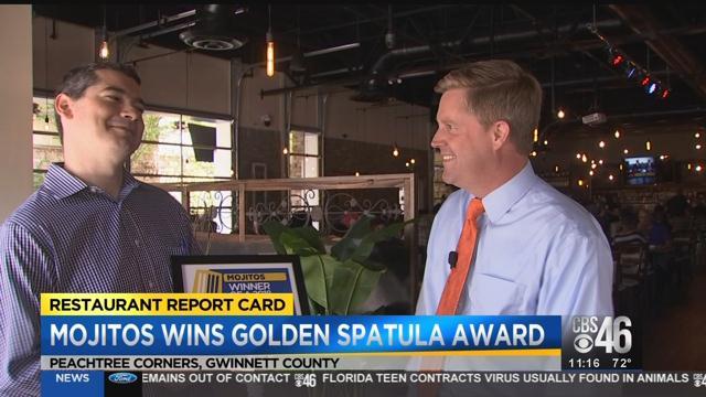Mojitos wins this week's Golden Spatula Award!