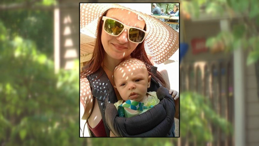 victim: Holly Whitley and baby