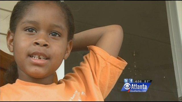 6-year-old Salecia Johnson