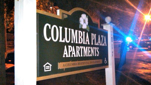 Mark Melvin CBS Atlanta  The shooting occurred at the Columbia Plaza  Apartments. Atlanta police  Victim tried to run after being shot   CBS46 News
