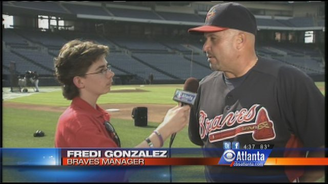 Oliver interviews Braves Manager Fredi Gonzalez