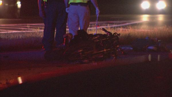 Mark Melvin/CBS Atlanta- Police investigate the accident scene.