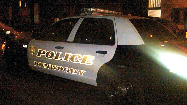 Mark Melvin/CBS Atlanta- Dunwoody police are investigating and overnight homicide at Peachtree Place Apartments.