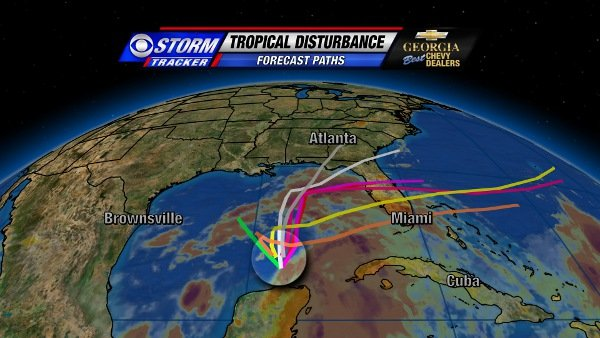 Tropical Storm Debby forms in Gulf of Mexico - CBS Atlanta 46