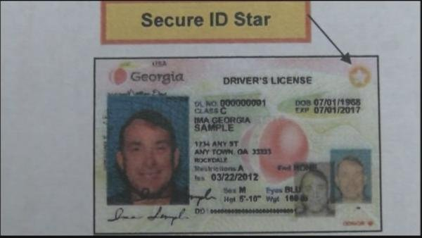 New secure Georgia driver's license