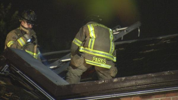 Joe Holland/CBS Atlanta- The restaurant had moderate roof damage early Wednesday.