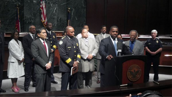 City leaders hold news conference