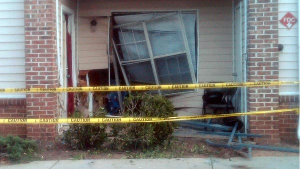 Damage from outside apartment