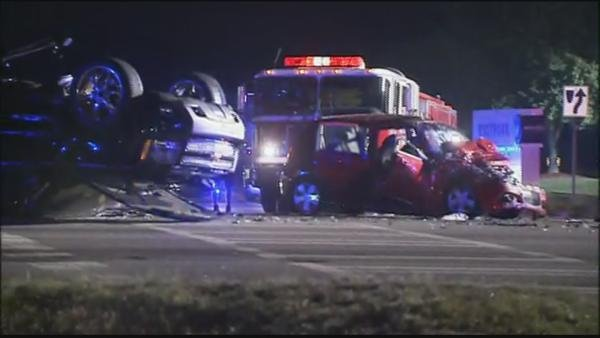 GSP is investigating a police chase that resulted in a crash in Douglas County.