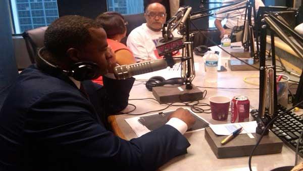 Live appearance on radio station V-103