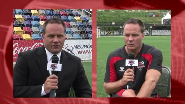 Eric Wynalda interviews himself