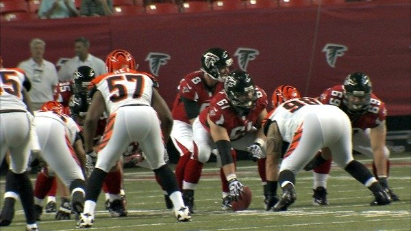 Steve Franklin/CBS Atlanta- The Falcons took on the Cincinnati Bengals Thursday night.