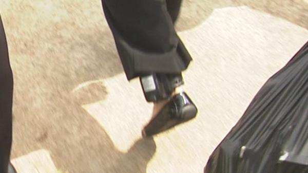 Sneiderman's GPS ankle monitoring bracelet