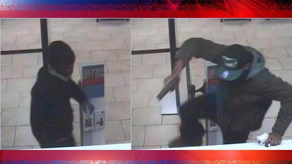 Suspects wanted in bank robbery