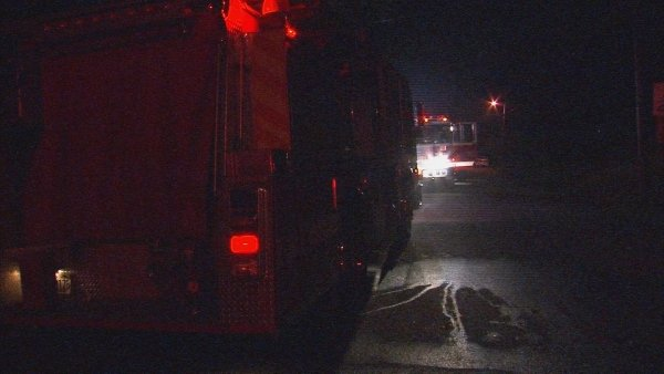 Steve White/CBS Atlanta- Firefighters put out a small kitchen fire that overcame an Atlanta woman late Thursday.
