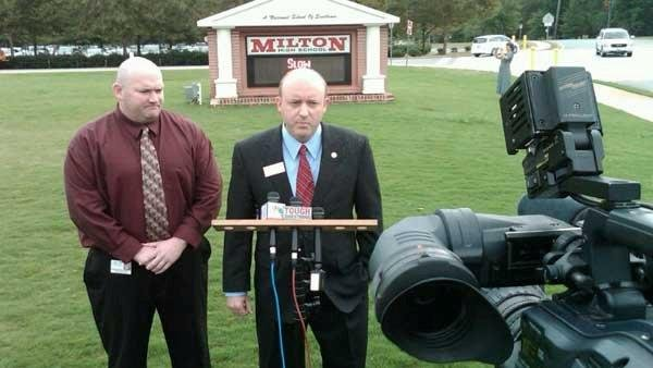 Milton High School speaks on coach's removal