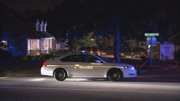 Scene of the officer-involved shooting