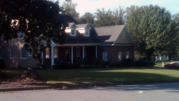 Home where the shooting took place