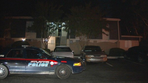 Mark Melvin/CBS Atlanta- A woman shot four times at this southwest Atlanta apartment will face charges.