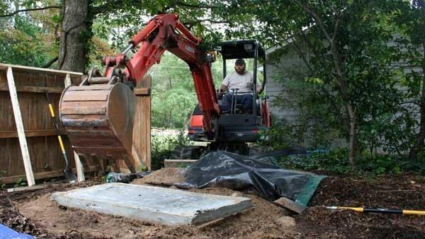 William Cormier's backyard where Dugas' body was found