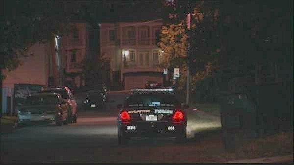 Mark Melvin/CBS Atlanta- A man was shot during an early morning robbery attempt in Midtown.
