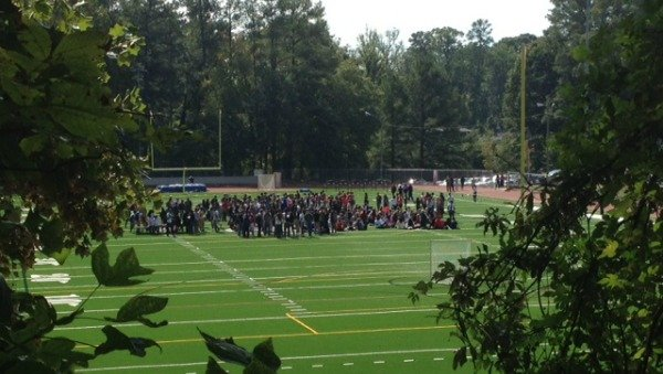 Walkout at North Atlanta High School