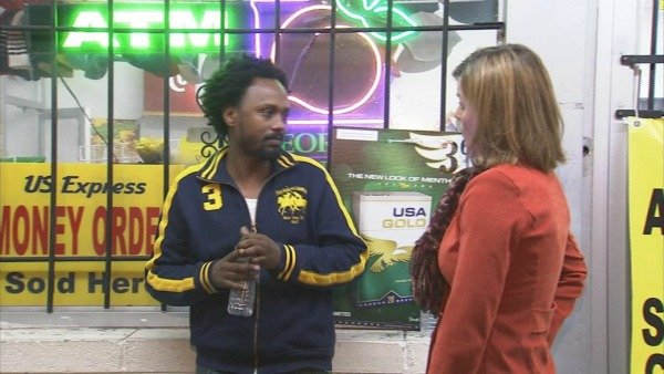 Store clerk speaks to CBS Atlanta's Rebekka Schramm