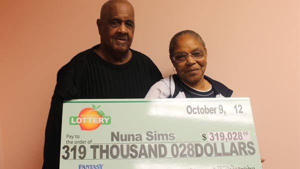 Nuna Sims and her husband Carl