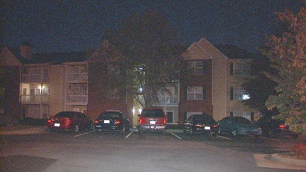 Mark Melvin/CBS Atlanta- Police are investigating the shooting of a man at a Clayton apartment complex.