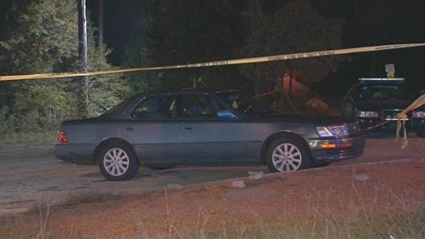 Mark Melvin/CBS Atlanta- The victim was walking to his car across the street from the southeast Atlanta club when he was attacked.