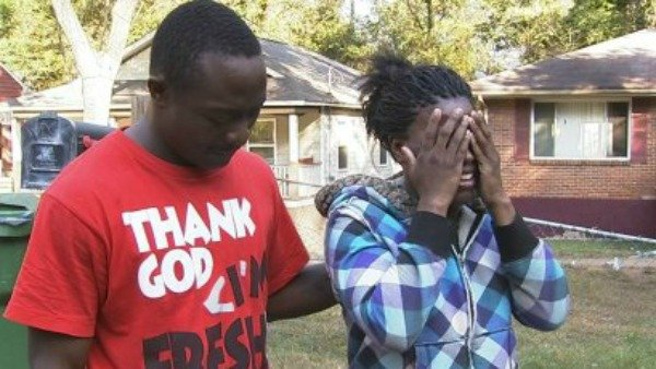 Family members mourn the toddler's death.