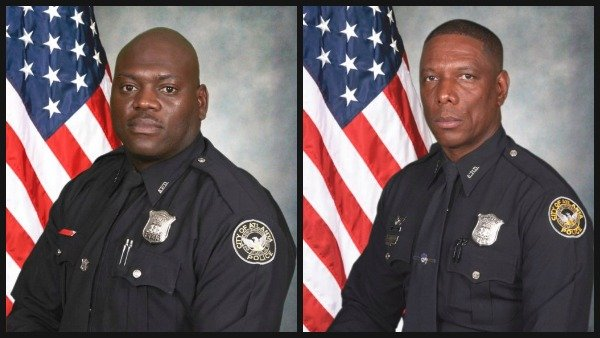 Officer Shawn Smiley and Officer Richard Halford