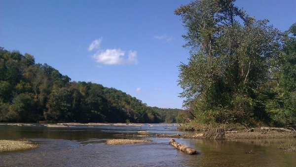 Chattahoochee River at Whitewater Creek Trails. Courtesy: Mary Watson Gleason