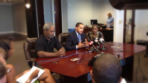Robert Champion's parents, lawyer speak to the media