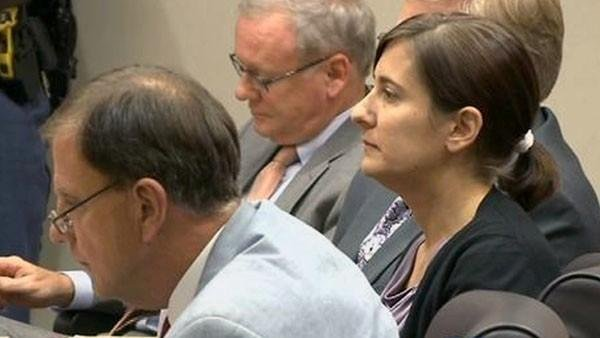 Andrea Sneiderman in an earlier court appearance