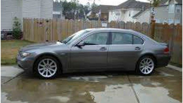 Photo of BMW similar to the one police believe Gupton is driving.