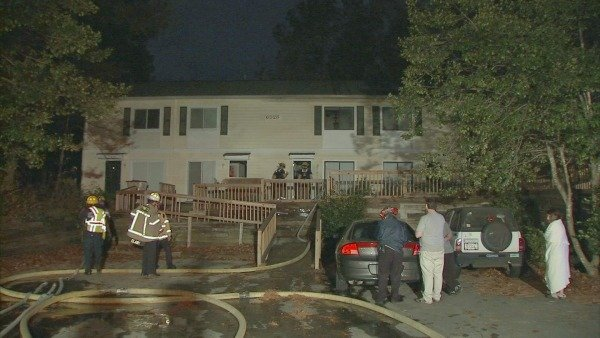 Mark Melvin/CBS Atlanta- No one was injured in another of a series of fireplace-related fires in the Atlanta metro area.
