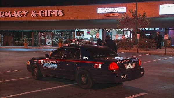 Mark Melvin/CBS Atlanta- A man was arrested early Wednesday after attempting to burglarize a northeast Atlanta store.