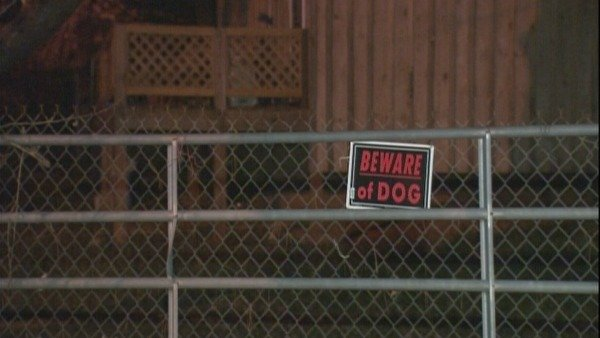 Griffin home where pit bull attacked girl