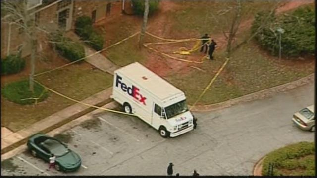 Police have not said whether a FedEx truck at the scene where a boy was struck by a vehicle was responsible in the incident.
