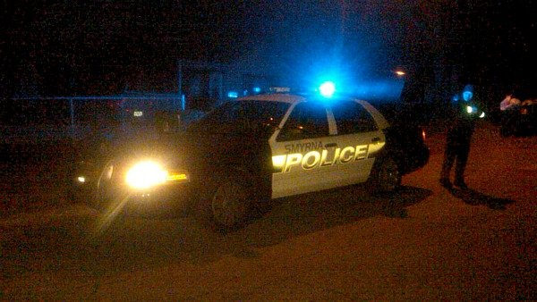 Mark Melvin/CBS Atlanta- Smyrna police are on the scene of an overnight homicide.
