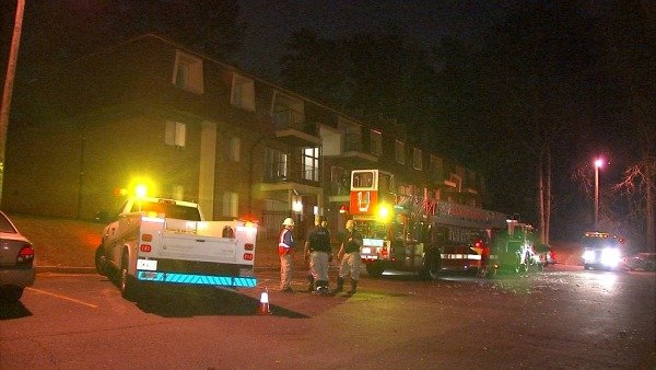 Fire displaces southwest Atlanta residents on New Year's Eve 2013