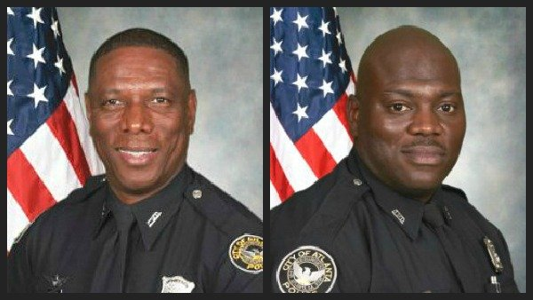 Officer Richard Halford and Officer Shawn Smiley