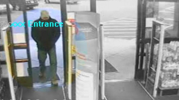Surveillance video of the suspect in Walgreens